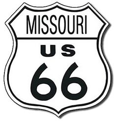TIN SIGN Route 66 Missouri *** Check out this great product.