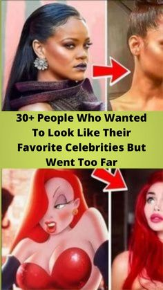 30+ #People Who Wanted To Look Like Their #Favorite #Celebrities But Went Too Far