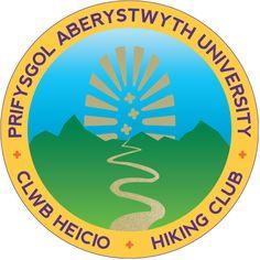 Aberystwyth University Hiking Club - Logo by Alex Greenhead, via Behance Hiking Club, Promotional Banners, Aberystwyth, Karate, Identity, University, Behance, Logo, Logos
