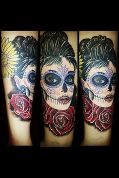 ohmy..im so in love.. my favorite lady, sugar skull style.