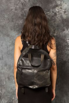 MARSÈLL – Leather Back Pack | -PNP, fashion stores in Florence