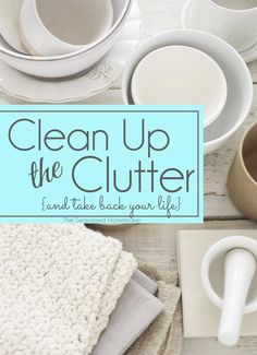 Is your home a haven for clutter? Are you looking for ways to Clean Up the Clutter and Take back your life. Take the challenge ~ The Seasoned Homemaker