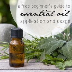 Essential Oil How To/Application Guide, via SustainableBabySteps.com
