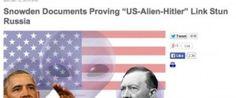 伊朗通訊社又中伏美國和納粹黨一樣 同受外星人操控