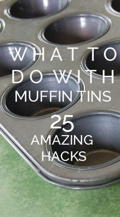 What To Do With Muffing Tins- 25 Amazing Hacks Muffin Tin Crafts, Muffin Tins, Simple Life Hacks, Useful Life Hacks, Organization Hacks, Kitchen Organization, Organizing, 1000 Life Hacks, Kitchen Hacks