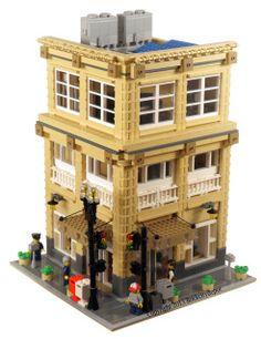 Menswear Shop, City Building Instructions - Brick City Depot - legos