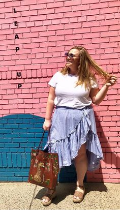 Ori · Contemporary Plus Size Fashion · The Perfect Tee, Contemporary Length in White · Available in sizes · Tap to shop the look Plus Size Tees, Plus Size Brands, Plus Size Designers, Plus Size Womens Clothing, Plus Size Outfits, Plus Size Fashion, Size Clothing, Hourglass Figure Outfits, Spring Fashion Outfits