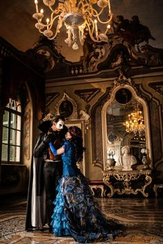 """A woman and a man, no more and yet no less.... by HARLEYQUINN81.deviantart.com on @deviantART - Cosplay of Christine and Erik (the Phantom) from """"Love Never Dies"""", uploaded by the Christine cosplayer"""