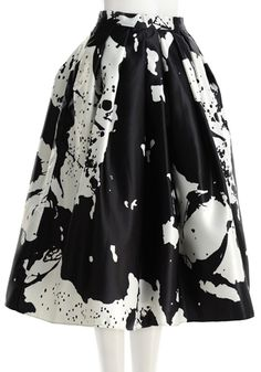 Abstract Skirt