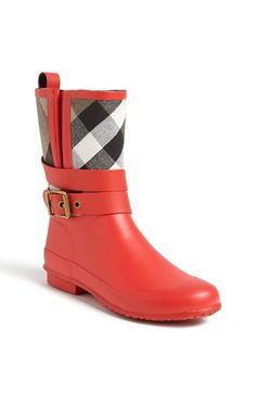 Burberry 'Holloway' Rain Boot  @Nordstrom