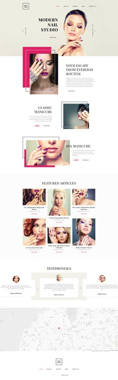 <b>Nail Lepo</b> is a professionally coded Nail Salon Website Template that is intended to run gracefully across multiple devices and web browsers. Its minimalist design makes the users focus on re...