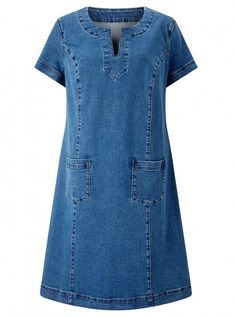 Dress, East vestidos Casual Clothing To Update Your Weekend Wardrobe Warm Outfits, Stylish Outfits, Dress Outfits, Casual Dresses, Maxi Dresses, Shift Dresses, Fashion Wear, Denim Fashion, Fashion Outfits