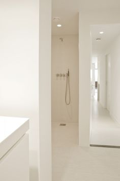 modern and white bathroom
