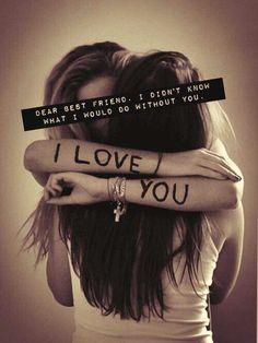A bff is like a sister 💜💜💜 Love My Best Friend, Best Friends For Life, True Friends, Best Friend Things, Internet Friends Quotes, Love My Friends, Best Friend Hug, Cute Quotes For Friends, Miss You Friend
