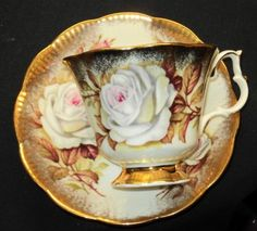 Royal Albert Much Treasure ROSE  Tea cup and saucer Teacup