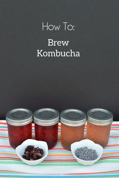 How to: Brew Your Own Kombucha. Including recipes for hibiscus and lavender kombucha!
