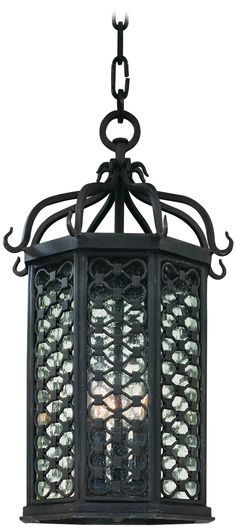 "Lamps Plus - Los Olivos Collection 20"" High Outdoor Hanging Light  Style # P8696"