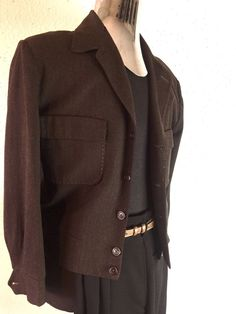 Vintage 1940'-50's Rockabilly Men's VLV Wool Ricky Jacket Medium #JosephsmenswearLosangeles #Casual