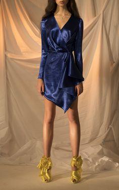 Long Sleeve Mini Dress by RASARIO for Preorder on Moda Operandi