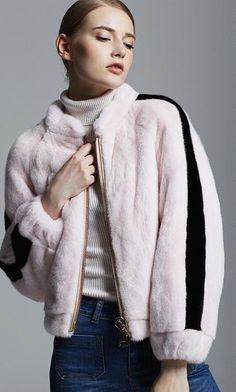 mink fur jacket.USD2200