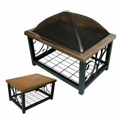 Portable Fire Pits, Fire Pit Table, Outdoor Furniture, Outdoor Decor, House Warming, Larger, Outdoor Living, Ottoman, Outdoors