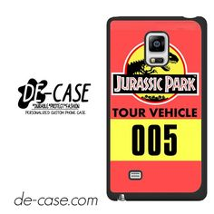 Jurassic Park Tour Vehicle DEAL-5997 Samsung Phonecase Cover For Samsung Galaxy Note Edge