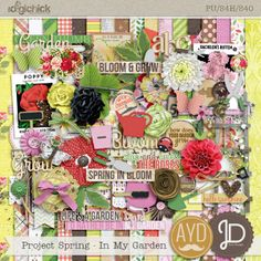 Project Spring - In my garden by Juno Designs and Amanda Yi Designs