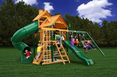 Gorilla Playset Cedar Big Skye I Swing Set, Price: $3,999.75  (Current Special Price of $2,999.00!)