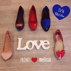 PROMO❤️MELISSA Últimos pares 33/34  R$60,00 #lojaamei #melissa #promo #muitoamor