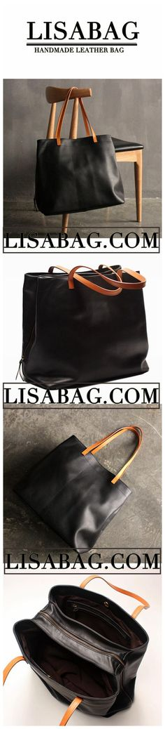 1f6c693737cf Handmade Large Top Grain Leather Tote Bag Handbag shopping Bag Shoulder Bag  SQ01