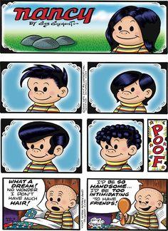 Nancy Comic Strip, August 16, 2015     on GoComics.com