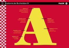 Eine kleine Schule zur Anatomie der Buchstaben #Typo
