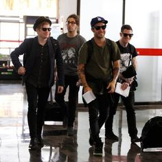 The guys at the airport