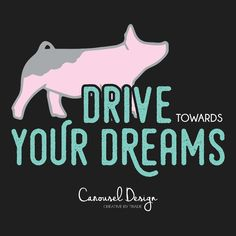 Livestock Motivation by Carousel Design. Pig Showing, Livestock Farming, Teacup Pigs, Show Cattle, Monogram Stickers, Showing Livestock, Mini Pigs, Education Humor, Animal Quotes