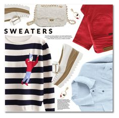 """""""Striped sweaters"""" by fshionme ❤ liked on Polyvore featuring Paul by Paul Smith"""