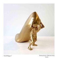 Sebastian Errazuriz' 12 Lovers 12 Shoes project - The Gold Digger: Allison