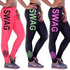 Ladies Fitness Swag Leggings
