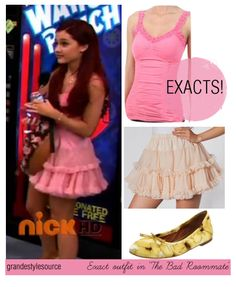 cat valentine outfits sam and cat / cat valentine outfits . cat valentine outfits for school . cat valentine outfits sam and cat Victorious Cat, Cat Valentine Victorious, Cat Valentine Outfits, Girly Outfits, Cute Outfits, Sam E Cat, Ariana Grande Outfits, Fandom Outfits, American Apparel