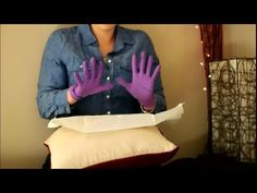 ▶ How to Put on Sterile Gloves: the Difference of Clean vs Sterile - Patriot Nurse