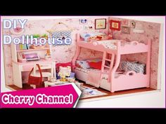 DIY | Làm Đồ Chơi Cho Bé | Miniature Dollhouse Kit Mood For Love Slepping Room | AMY - YouTube