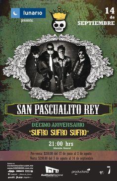 San Pascualito Rey en el Lunario del Auditorio Nacional