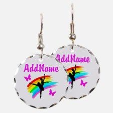 BALLERINA Earring Take 20% Off Your Order Use Code: BAE20 on our beautiful personalized Dancer and Ballerina Jewelry http://www.cafepress.com/sportsstar/10423569 #Dancer #Dancergifts #Ballet #Ballerina  #Personalizeddancer #DancerJewelry
