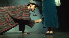 Imagen del espectáculo de teatro escolar en inglés Sherlock Holmes