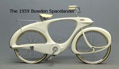"""6. Les presentamos a """"La bici del futuro"""", creada con fibra de vidrio."""