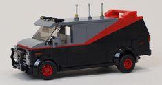 Lego Van, Lego Technic Sets, Lego Creative, Lego Truck, Lego Kits, Lego Sculptures, Lego Speed Champions, Lego Castle, Cool Lego Creations