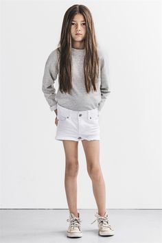 Savannah shorts white