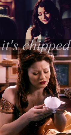 It's chipped...#ouat #rumbelle #chippedcup