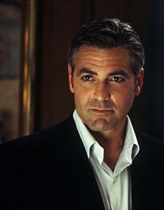 George Clooney is a good looking older man;)