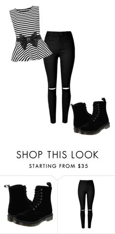 """""""Untitled #106"""" by larissa-gws on Polyvore featuring Dr. Martens and WearAll"""