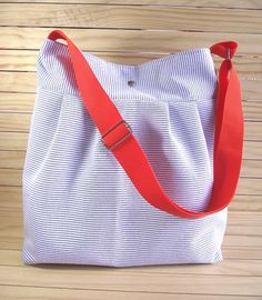 Striped Crossbody Diaper Bag Pleated by liliavaniniboutique, $58.00